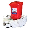POLYMAXX® Oil-only Mobile Spill Kit 95 gallon Capacity (1/wheeled container)