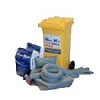 UNIMAXX® Universal Mobile Spill Kit 47 gallon Capacity (1/wheeled container)