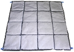 RUBBERIZER® by ClearTec™ 4'x4' Quilted Mat