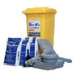 UNIMAXX® Universal Mobile Spill Kit 95 gallon Capacity (1/wheeled container)